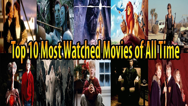 Top 10 Most Watched Movies Of All Time - IMDB Top Rated Movies
