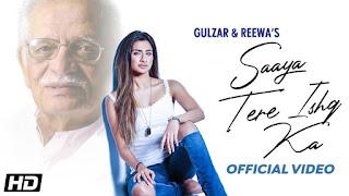 saaya Tere Ishq Ka Lyrics - Gulzar & Reewa