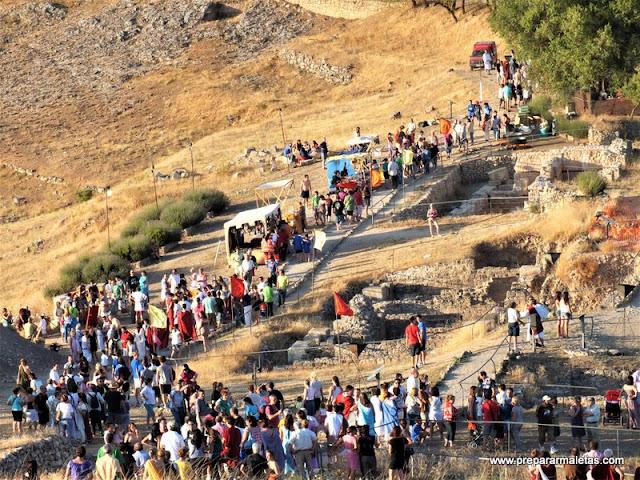 jornadas romanas de Valeria en Cuenca agosto