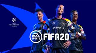 تحميل فيفا 2020 fifa بدون نت وبمود دوري الابطال Uefa champions league