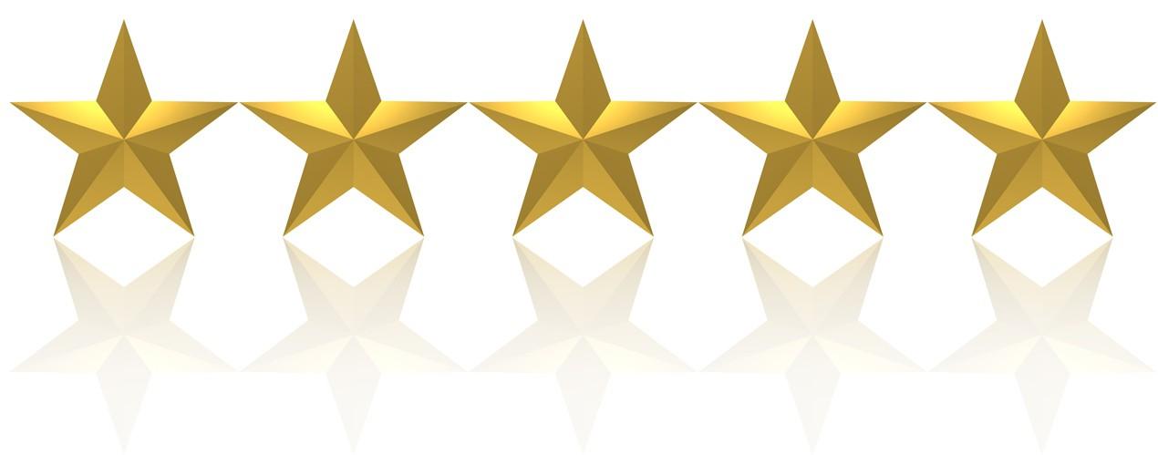 Resultado de imagem para cinco estrelas