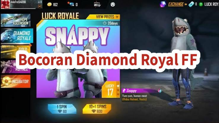 bocoran diamond royale ff terbaru 2021 juli