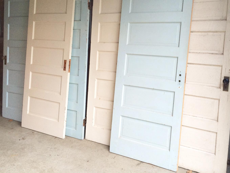 Relatively Little Farmstead: 1905 Farmhouse Doors OQ76