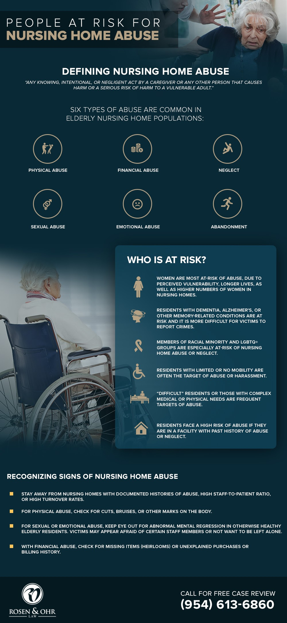 How's The Life of Elders Inside the Nursing Home #Infographic