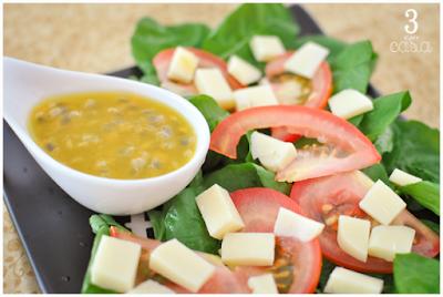 receitas molhos de salada
