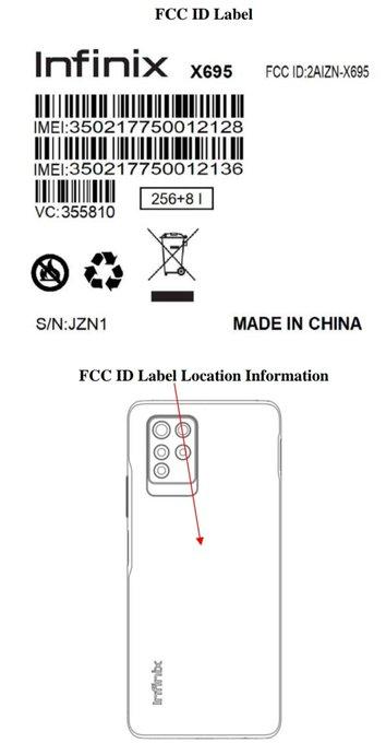 Leak Information of Infinix Note 10 Pro, Design Emerged