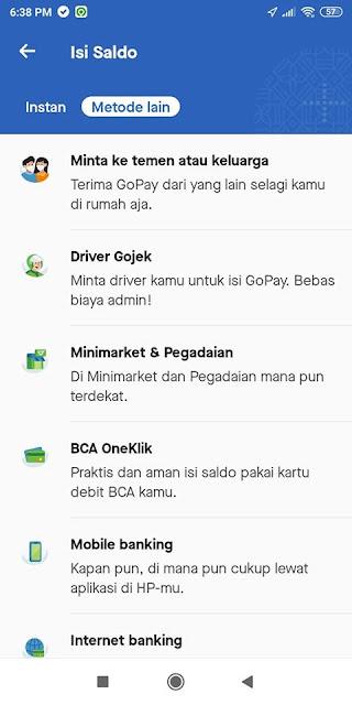 beli aplikasi edit foto di google play pakai gopay