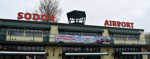 Sodor Airport at Thomas Land, Drayton Manor