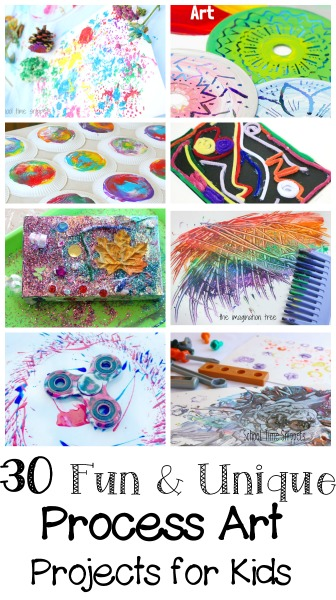30 process art ideas for kids