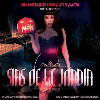 Sins Le Jardin LA Halloween