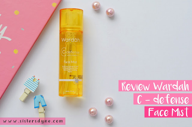 Wardah C-defense Face Mist Vitamin C