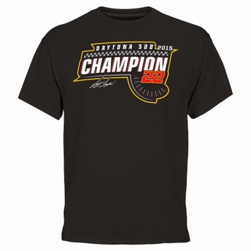 Joey Logano Daytona 500 Champions T-Shirt, Joey Logano Daytona 500 3x 4x 5x t-shirt
