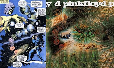Resultado de imagem para Pink floyd doctor strange cover