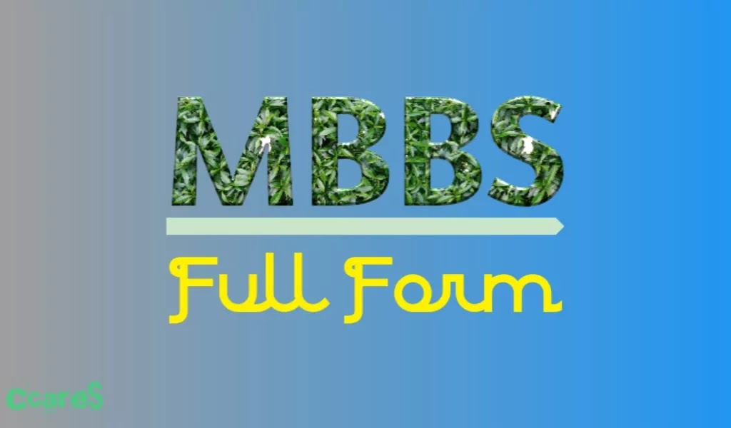 What Is MBBS Full Form, Full Form Of MBBS