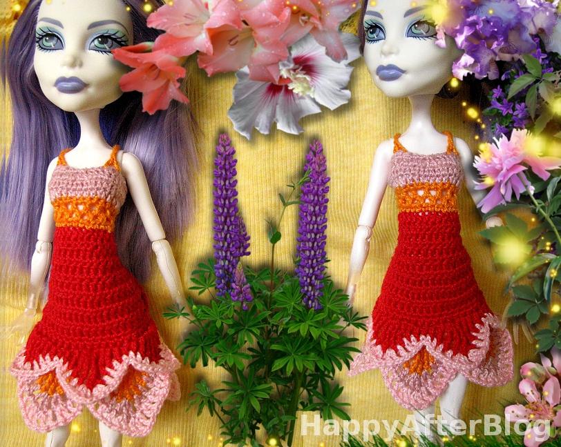 62785a7213 Jak podoba się Wam nowa miniaturowa sukienka  Szydełkowy wzór można znaleźć  w sklepiku  Sweet Dress pattern.