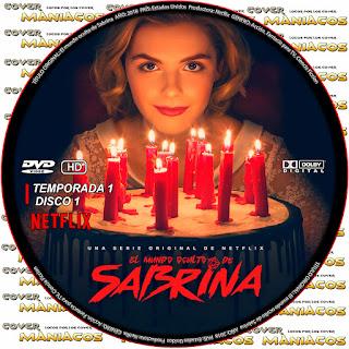 Chilling Adventures of Sabrina - El mundo oculto de Sabrina [NETFLIX SERIES COVER DVD ]
