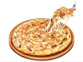 salah satu pizza yang korang boleh order : Pizza Shrimp