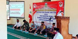 Letkol Arm Suharyanto, S. Sos silaturrahmi Kebhinekaan
