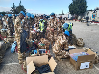 Tanzania Military Police Unit Periksa Perlengkapan Kontingen Garuda UNIFIL