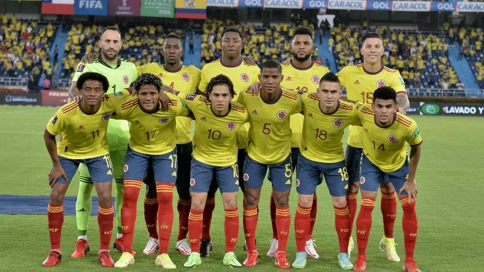 Formación de Colombia ante Chile, Clasificatorias Catar 2022, 9 de septiembre de 2021