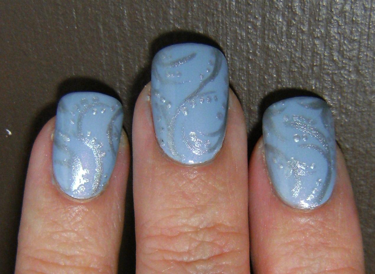 Deez Nailz: winter nail art