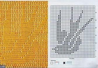 Punto en red a Crochet