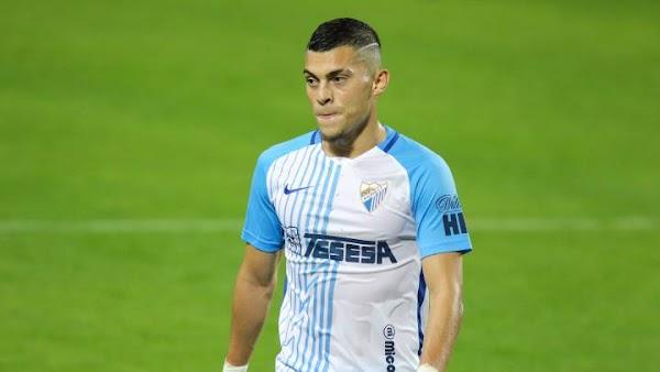 Málaga, Yanis Rahmani está entre los mejores jugadores top de LaLiga SmartBank