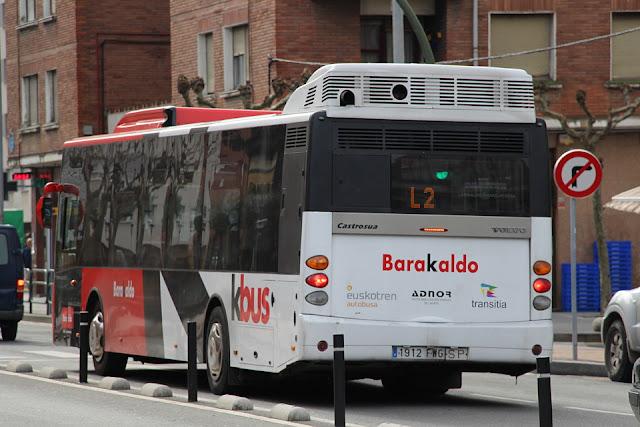 autobús de Barakaldo KBus