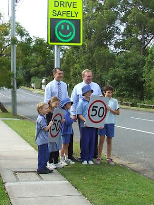 Brisbane Speed Sign