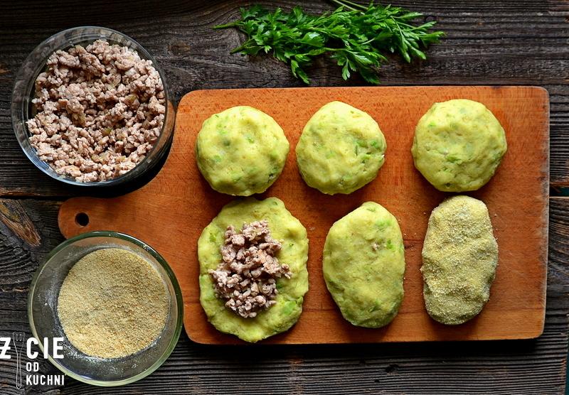krokiety ziemniaczane, krokiety z bobu, dania z bobu, bob, bob poltino, jak zrobic krokiety ziemniaczane, bob mrozony, dania z bobem, krokiety, zycie od kuchni