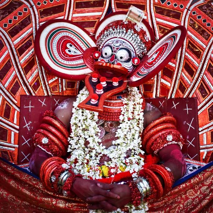 Theyyam, kerala