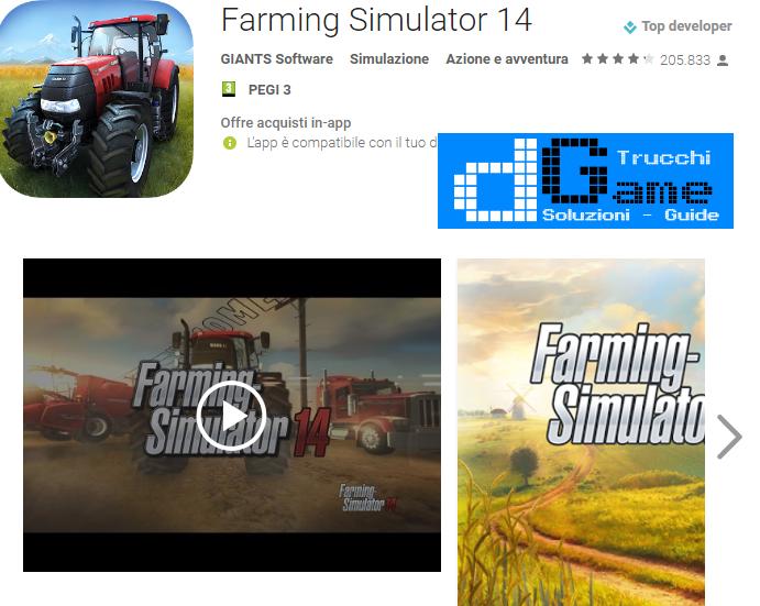 Trucchi Farming Simulator 14 Mod Apk Android v1.4.3