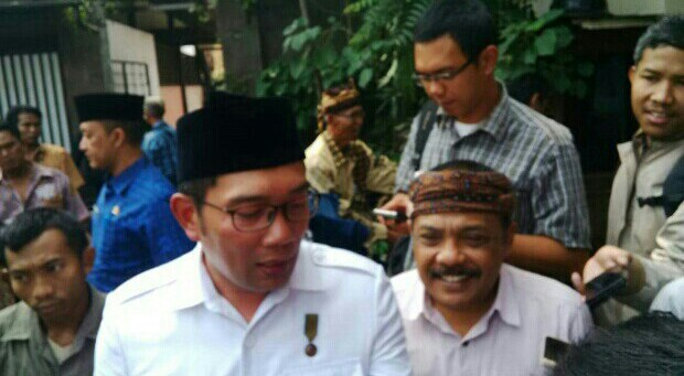 Ridwan Kamil dan Eka Santosa Sambangi DPKLTS Bahas Pilgub Jabar