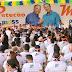 Militância do PSD abraça candidaturas de Petecão e Marivaldo