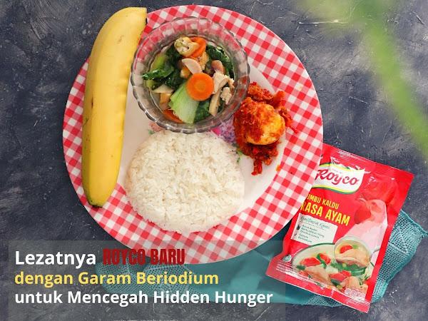Lezatnya Royco Baru dengan Garam Beriodium untuk Mencegah Hidden Hunger