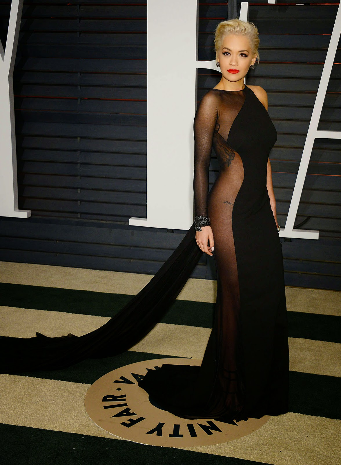 Rita Ora – 2015 Vanity Fair Oscar Party in Hollywood