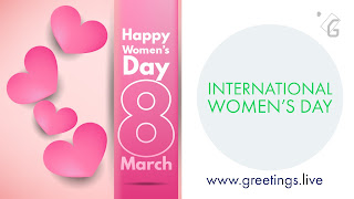 International Women's day 2018 March 8 wishes