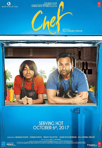 Poster of Chef 2017 Full Movie [Hindi-DD5.1] 720p DVDRip ESubs Download