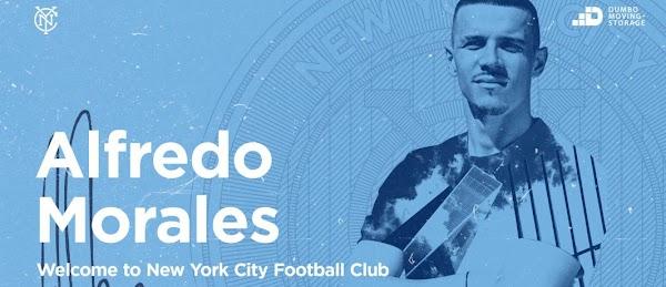 Oficial: New York City FC, firma Alfredo Morales