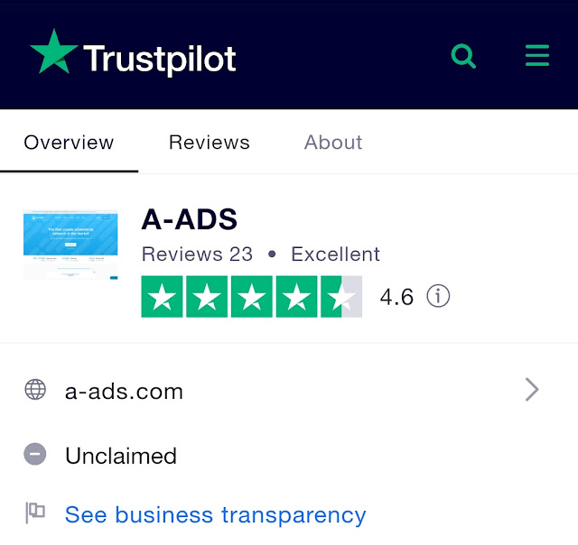 trustpilot a-ads
