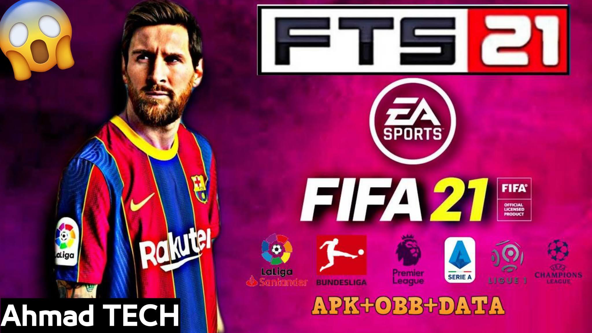 تحميل لعبة FTS 2021 للاندرويد بجرافيك اسطوري مود فيفا 2021