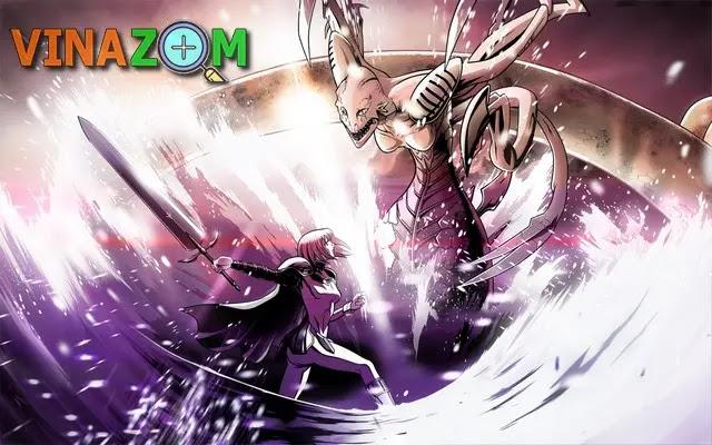 anime claymore đẫm máu bạo lực