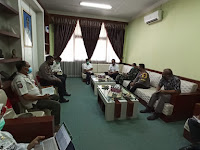 Komandan Kodim 0802/Ponorogo Hadiri Rapat Evakuasi Terkait Perkembangan Covid-19 di Wilayah Ponorogo