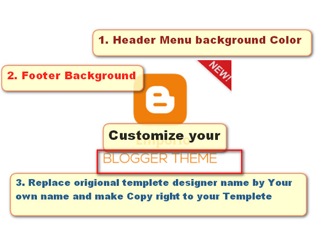 How to Customize Blogger template as per your choice for free of cost