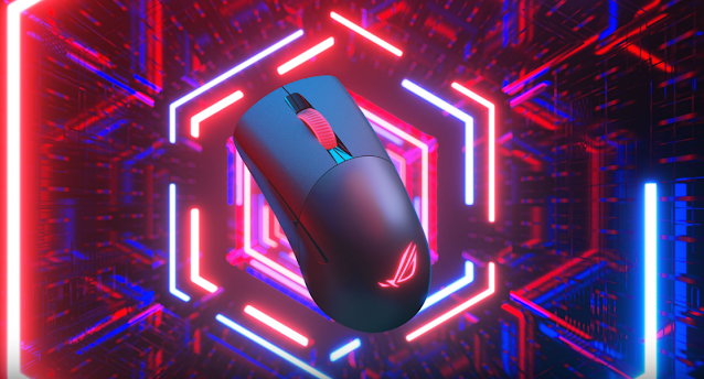All-New ASUS ROG Keris Wireless/ Wired Gaming Mouse - with Tri-Mode Connectivity including Wired, Wireless, and Bluetooth | TechNeg