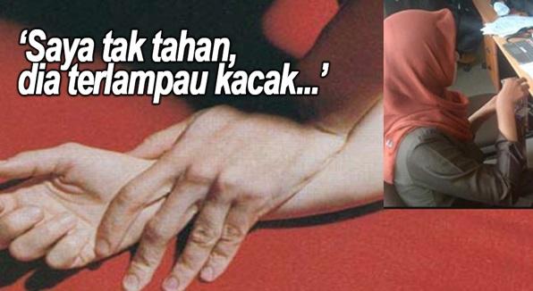 Gadis Tak Tahan Teman Lelaki Terlalu Kacak, Nekad RogoI Hingga Kemaluan Lelaki 'BERDARAH'