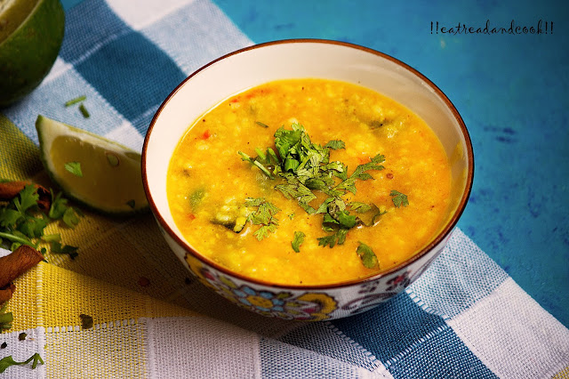easy and simple bengali recipe and preparation Bengali Niramish Khichuri recipe / Bengali Pure Vegetarian Khichdi recipe / Bengali Mug daler Khichuri recipe / Bengali Moong Dal khichdi recipe with step by step pictures