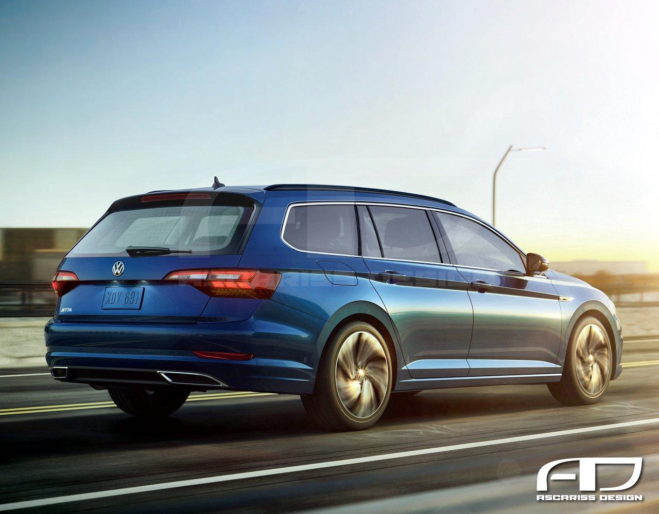 Volkswagen Jetta Wagon Rear