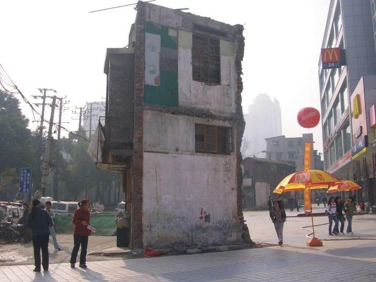 Rumah Paku di Changsha, Cina