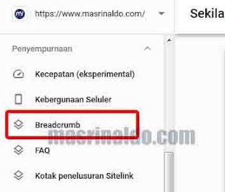 Memperbaiki Notifikasi Breadcrumb Error di Google Search Console Blogger 2